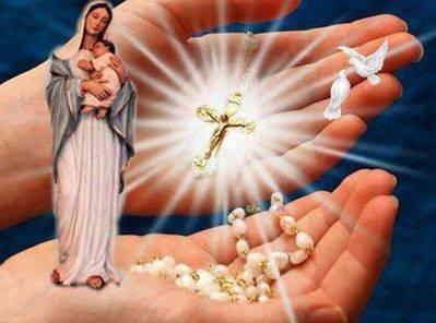 Santo Rosario y Crucifijo