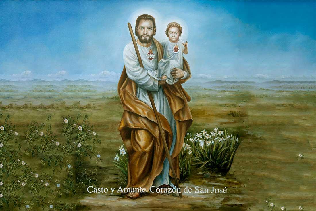 2 Diciembre 2020 – Llamado de Amor y de Conversión del Casto y Amante Corazón de San José