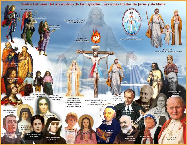 Santos Patronos del Apostolado