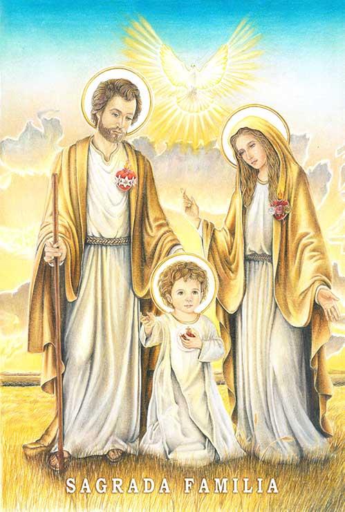 Icono Oficial de la Sagrada Familia
