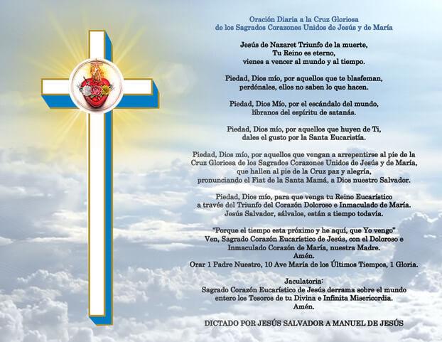 Cruz Gloriosa de los Sagrados Corazones Unidos
