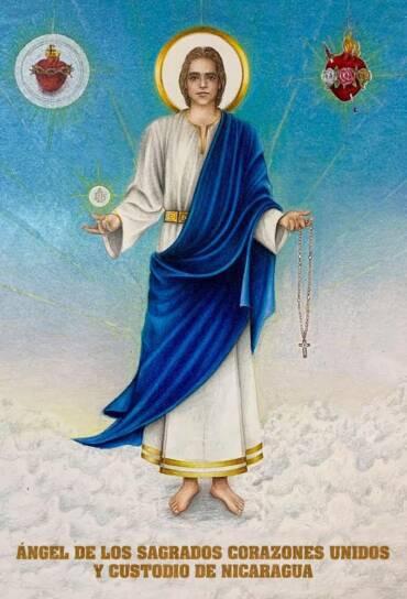 8 julio 2021 – LLAMADO DE AMOR Y CONVERSIÓN DEL ÁNGEL DE LOS SAGRADOS CORAZONES UNIDOS DE JESÚS Y MARÍA Y CUSTODIO DE NICARAGUA